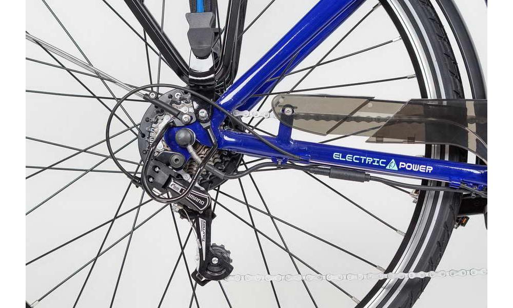 Městské elektrokolo LOVELEC Capella Blue/Mint