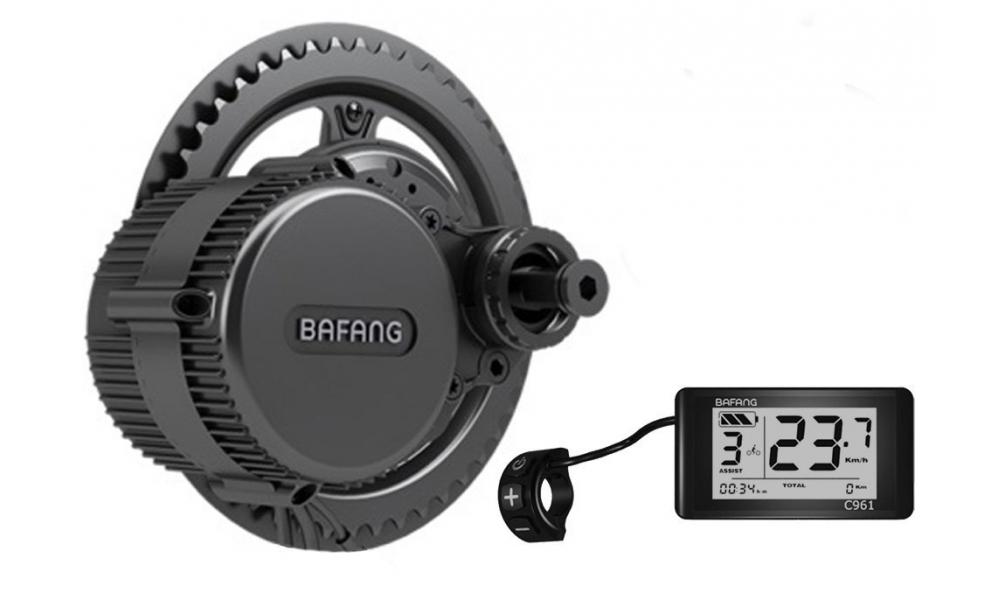 Středový motor Bafang 350W + LCD displej + ovládací tlačítka